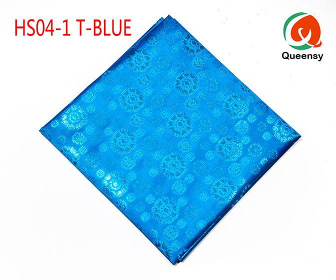 turquoise blue headtie fabric