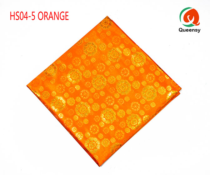 orange headtie wraper