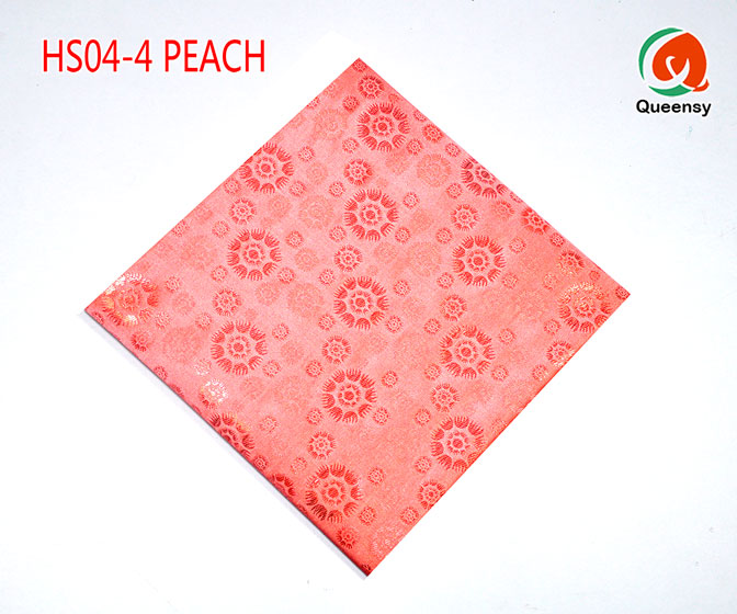 peach headtie fabric