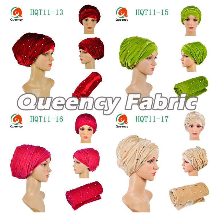 Multimcolor Beaded Custom Turbans