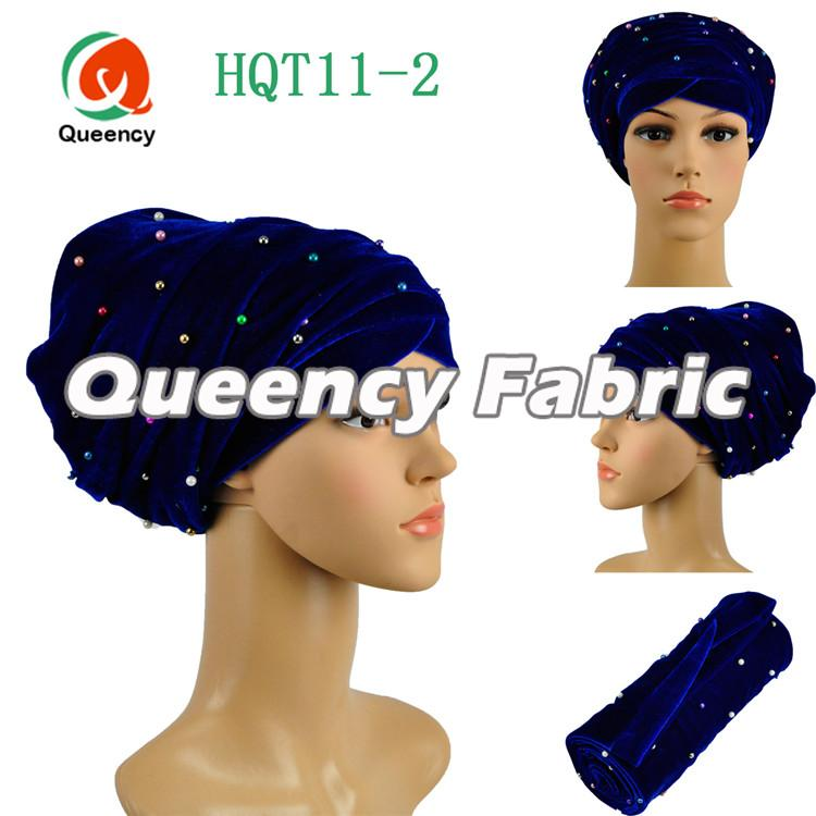 Royal Blue Headtie Turban