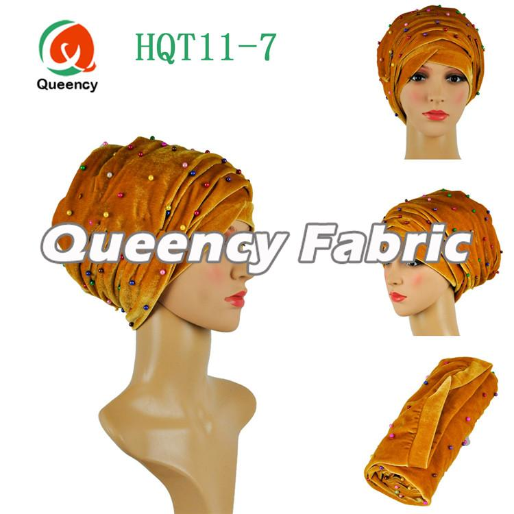 Gold Bridal Head Turbans