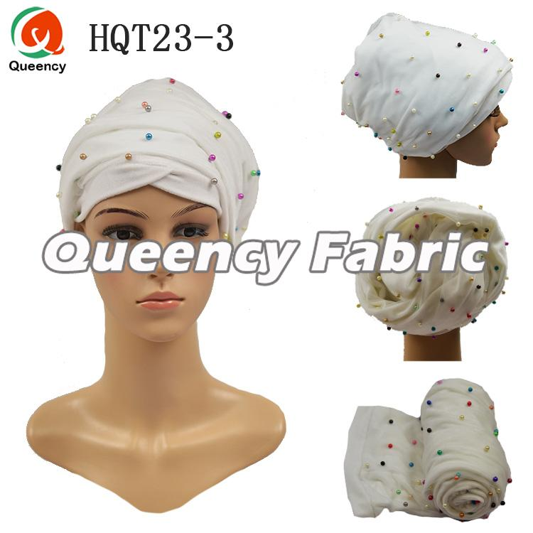 Velvet Turban Net Fabric