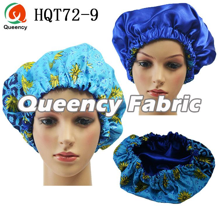 African Satin Lined Sleep Bonnet