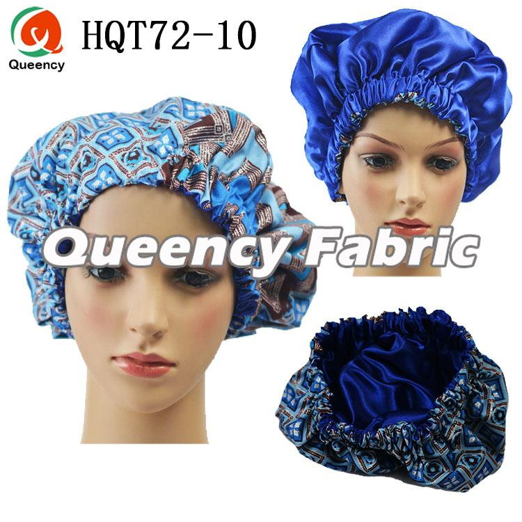 Satin Lined Ankara Bonnet