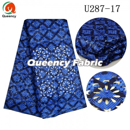 African Wax Laser Hole Ankara Fabric