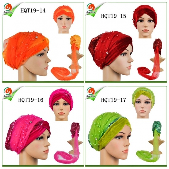 Newest Islamic Tube Turbans Head Wrapper