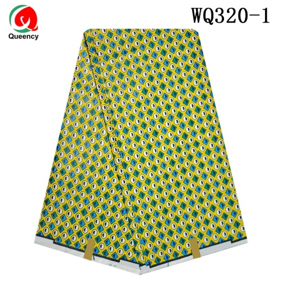 Soft printed veritable super wax fabric